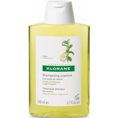 Klorane shampoo gloss & shine citron pulp 200ml