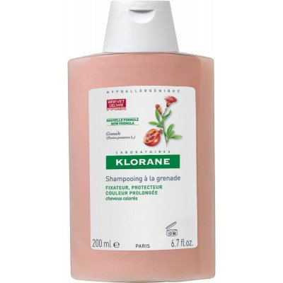 Klorane shampoo colour protection pomegranate 200ml
