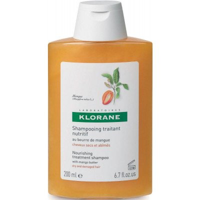 Klorane shampoo nourishing mango butter 200ml