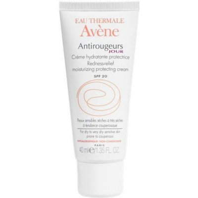 Eau thermale avene suncare range antirougeurs jour cream SPF20 40ml