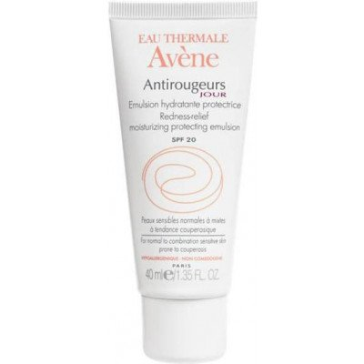 Eau thermale avene suncare range antirougeurs jour emulsion SPF 20 40ml