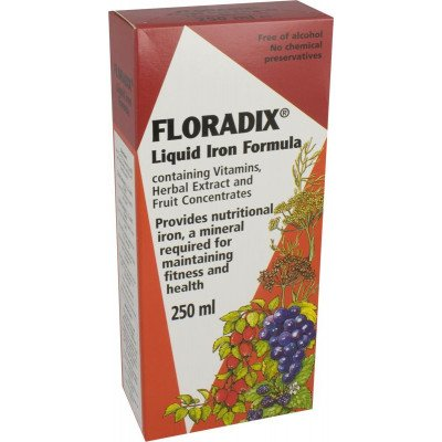 Floradix herbal iron extract 250ml