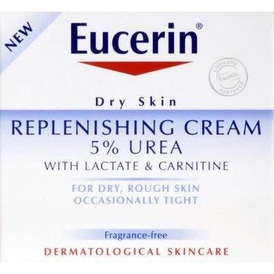 Eucerin dry skin with lactate & carnatine replenishing cream 5% 75ml