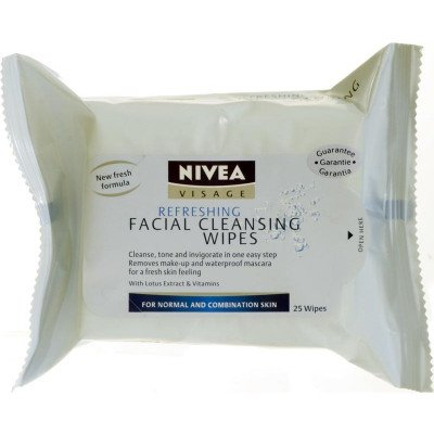 Nivea visage Cleansing soft facial cleansing wipes normal/combination 25 pack
