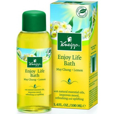 Kneipp herbal bath enjoy life may chang & lemon 100ml