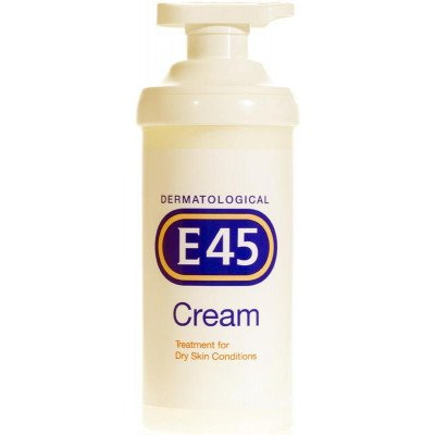 E45 cream pump otc pack 500g