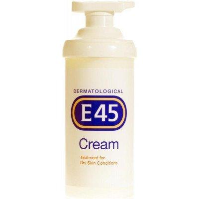 E45 cream pump otc pack 500g
