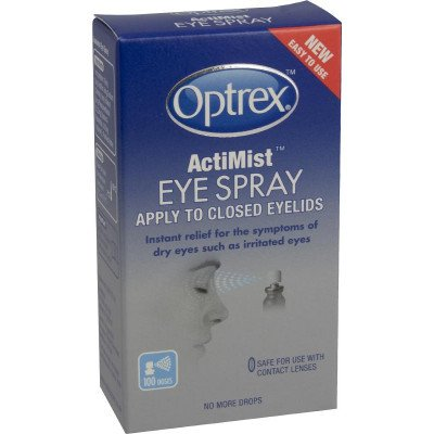 Optrex eye care ActiMist eye spray 10ml