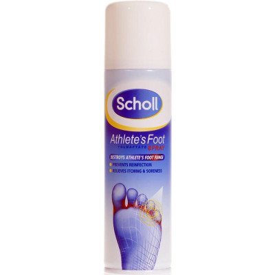 Scholl Footcare athletes foot range spray 1% 150ml
