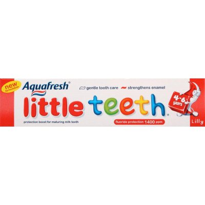 Aquafresh toothpaste childrens little teeth 50ml