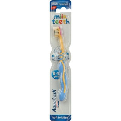 Aquafresh toothbrushes childrens milk teeth