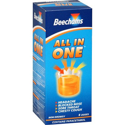 Beechams all-in-one liquid 160ml