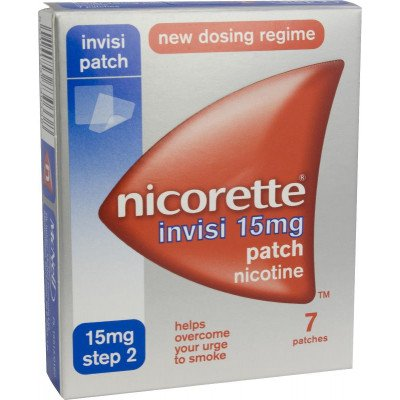 Nicorette Invisi-Patch 15mg 7 pack