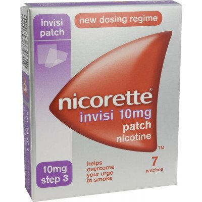 Nicorette Invisi-Patch 10mg 7 pack