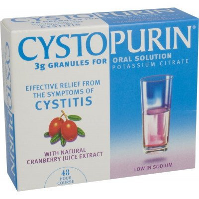 Cystopurin granules cranberry 3g 7g 6 pack
