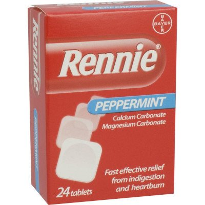 Rennie tablets peppermint 24 pack