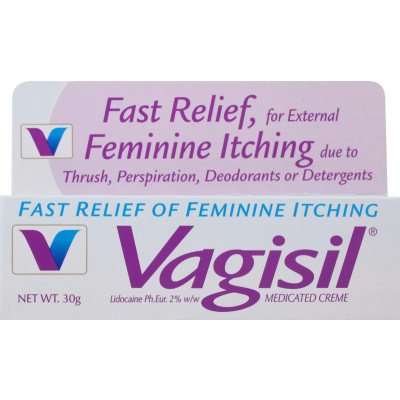 Vagisil medicated creame 2.0% w/w 30g