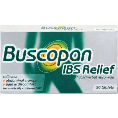 Buscopan ibs relief tablets 10mg 20 pack
