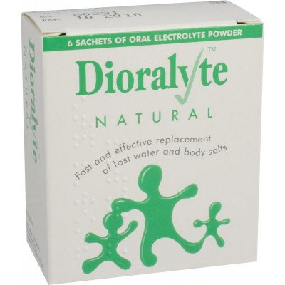 Dioralyte supplement sachets natural 6 pack