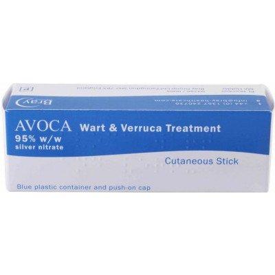Avoca wart & verruca treatment set 95%