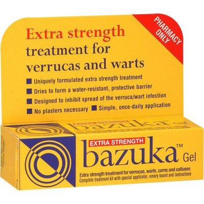 Bazuka extra strength gel 26% w/w 5g