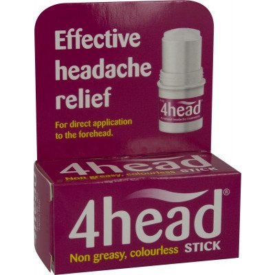 4head topical headache relief stick 3.6g