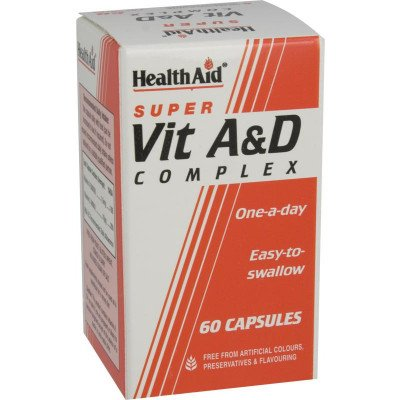 Healthaid vitamin A & D supplements super complex capsules 60 pack