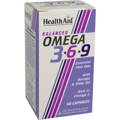 Healthaid supplements omega 3.6.9 capsules 60 pack