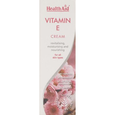 Healthaid cosmetics & toiletries vitamin E cream 75ml