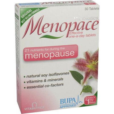 Menopace tablets 30 pack