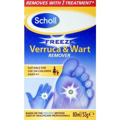 Scholl Footcare wart & verruca freeze treatment 80ml