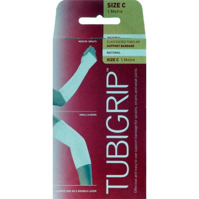 Tubigrip tubular support bandages natural colour size C 6.75cm x 1m-  1M (C)