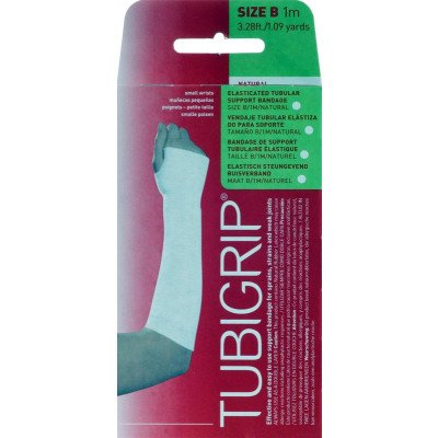 Tubigrip tubular support bandages natural colour size B 6.25cm x 1m