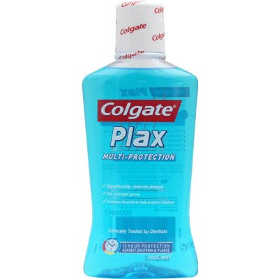 Colgate mouthrinse plax coolmint 500ml