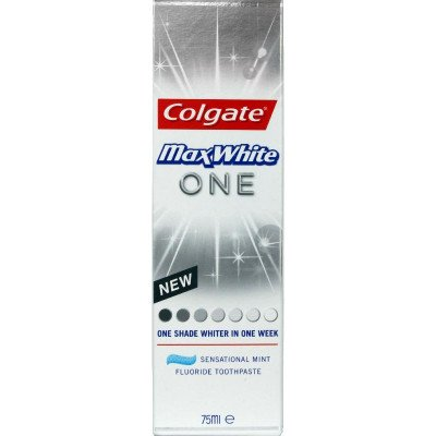 Colgate toothpaste max white one 75ml