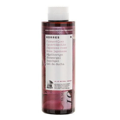 Korres Japanese Rose showergel_250ml