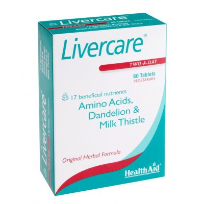 Healthaid lifestyle range Liver care red tablets 60 pack
