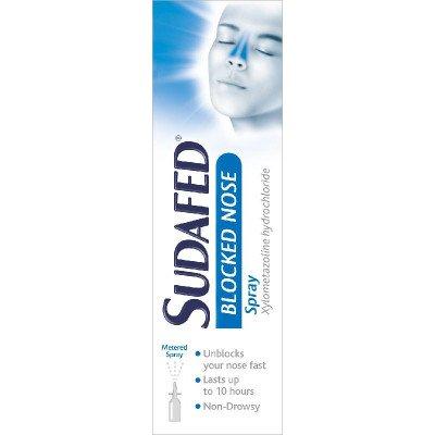 Sudafed blocked nose nasal spray 0.1% 15ml