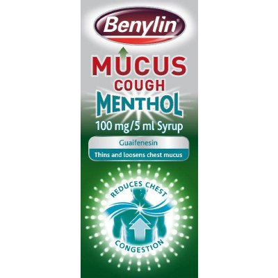 Benylin mucus cough menthol 100mg/5ml 150ml