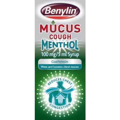 Benylin mucus cough menthol 100mg/5ml 150ml