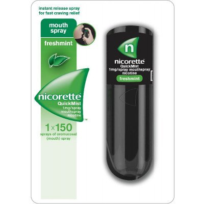 Nicorette Quickmist 1mg 13.2ml