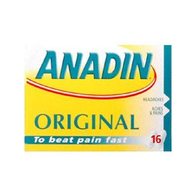 Anadin original caplets 16 pack