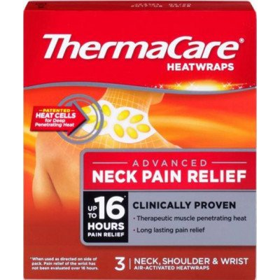 Thermacare heat wrap neck, shoulder & wrist 3 pack
