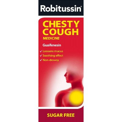 Robitussin oral solution chesty cough 100mg/5ml 250ml