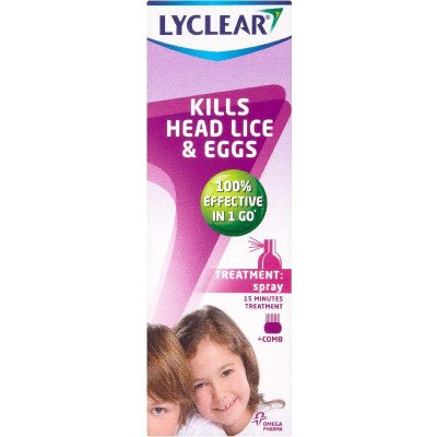 Lyclear spray 100ml