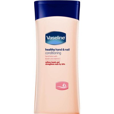 Vaseline hand & nail aseline healthy hands + stronger nails lotion 200ml 6 pack