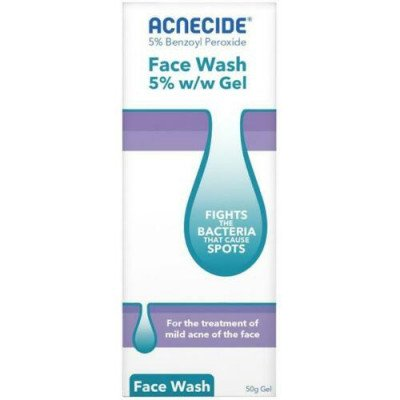 ACNECIDE face spot treatment wash 5% 50g