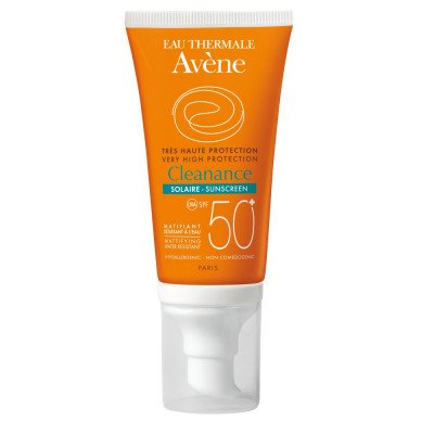 Avene Cleanance Sunscreen Cream For Skin With Acne Spf 50 50ml