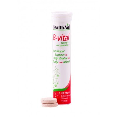 Healthaid vitamin B supplements B-Vital tablets 20 pack