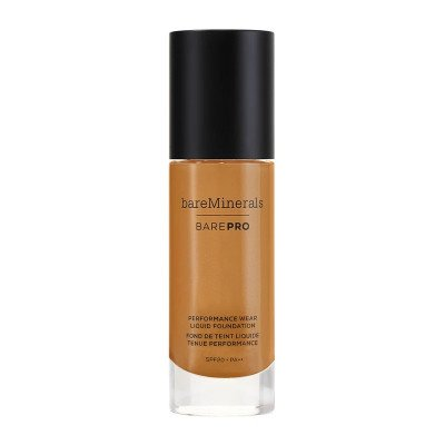 bareMinerals BarePro performance wear liquid foundation Hazelnut spf20